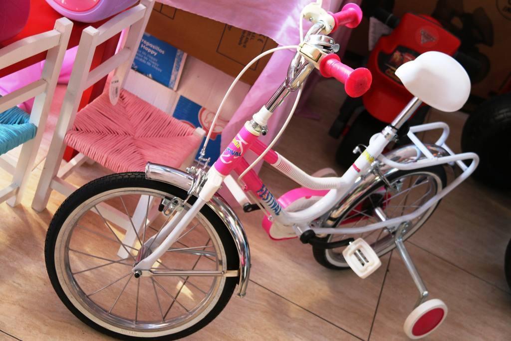 Correpasillos y Bicicletas Cash-Luci Molina
