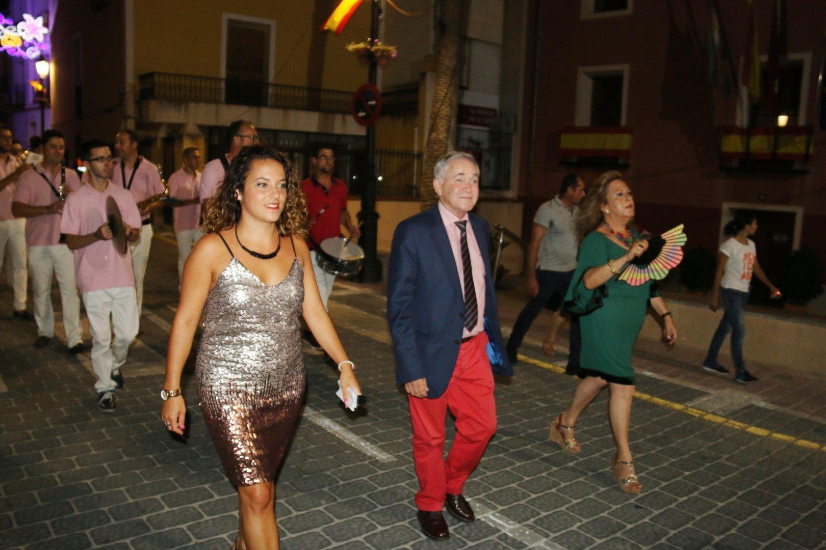 Elección de Reinas en Fiestas de Ojós 2017