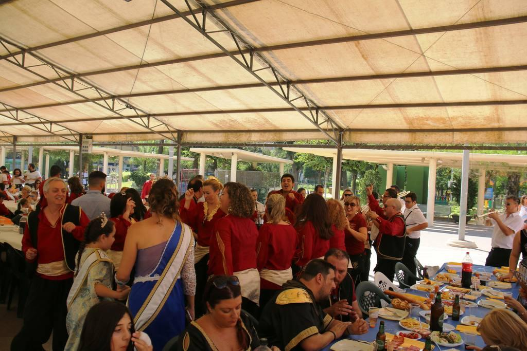 Encuentro Comida Moros y Cristianos 2019 Molina