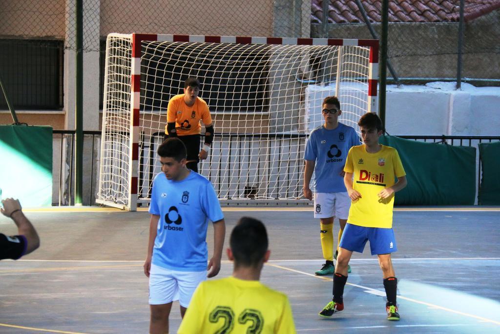 Equipo Futbol sala en CEIP Ulea 2019