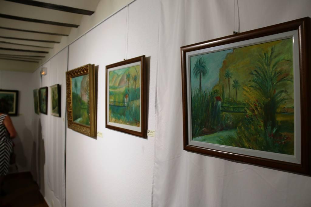 Exposición  Adela Banegas en Museo Belenes del Mundo-Ojós