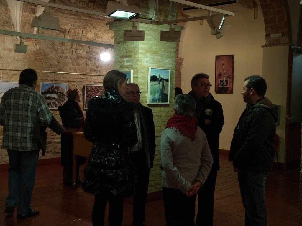 Exposición Antonio Fenor Rubio en Sala la Carcel de Molina de Segura