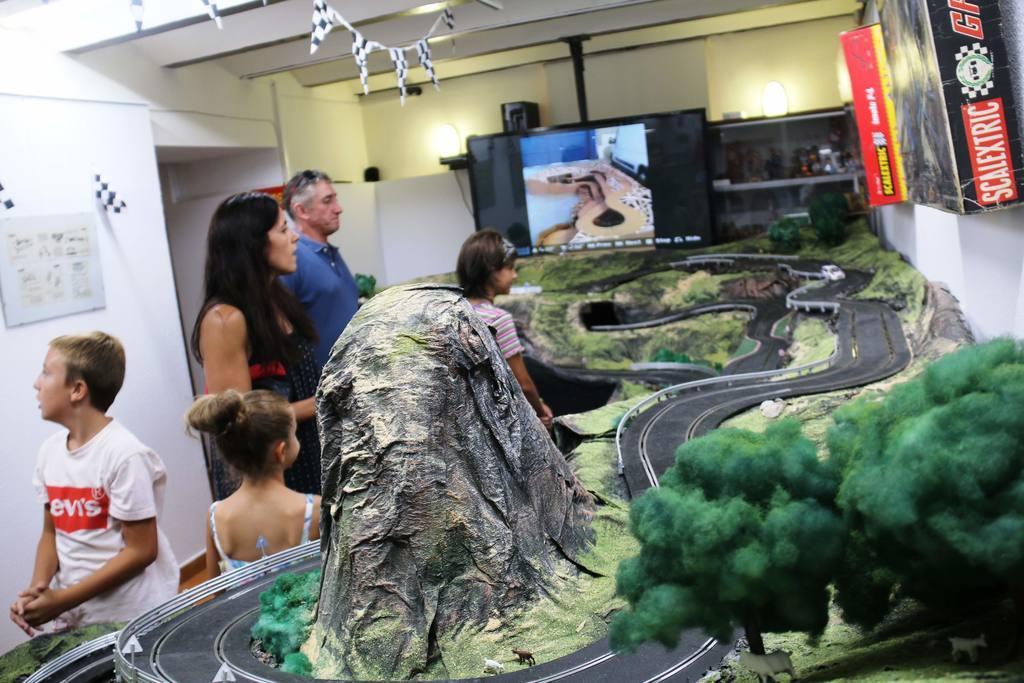 Exposición de Excalextric en Museo de los Belenes del Mundo