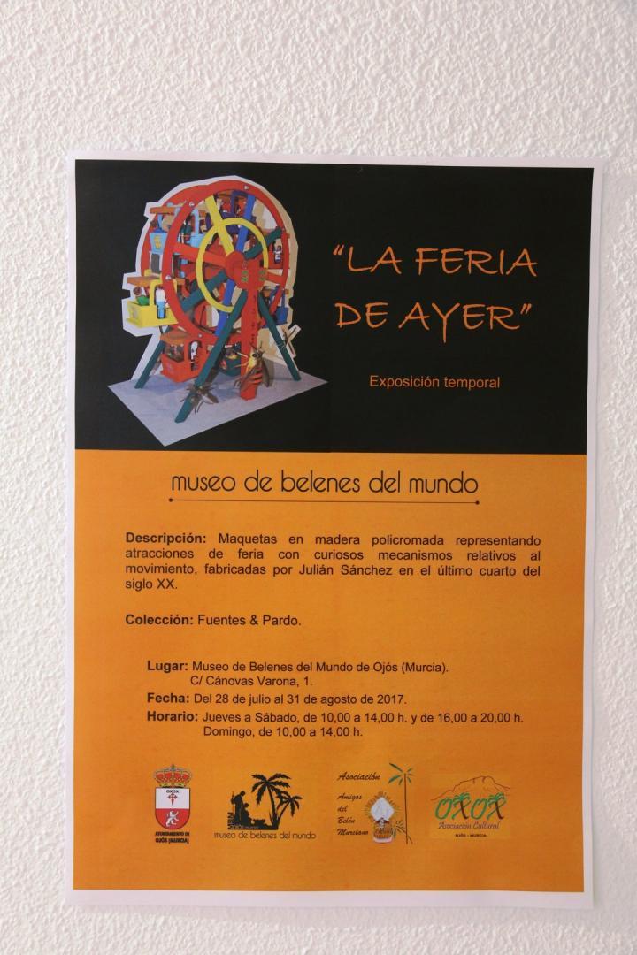 Exposición de maquetas La Feria de Ayer en Museo de Los Belenes del Mundo