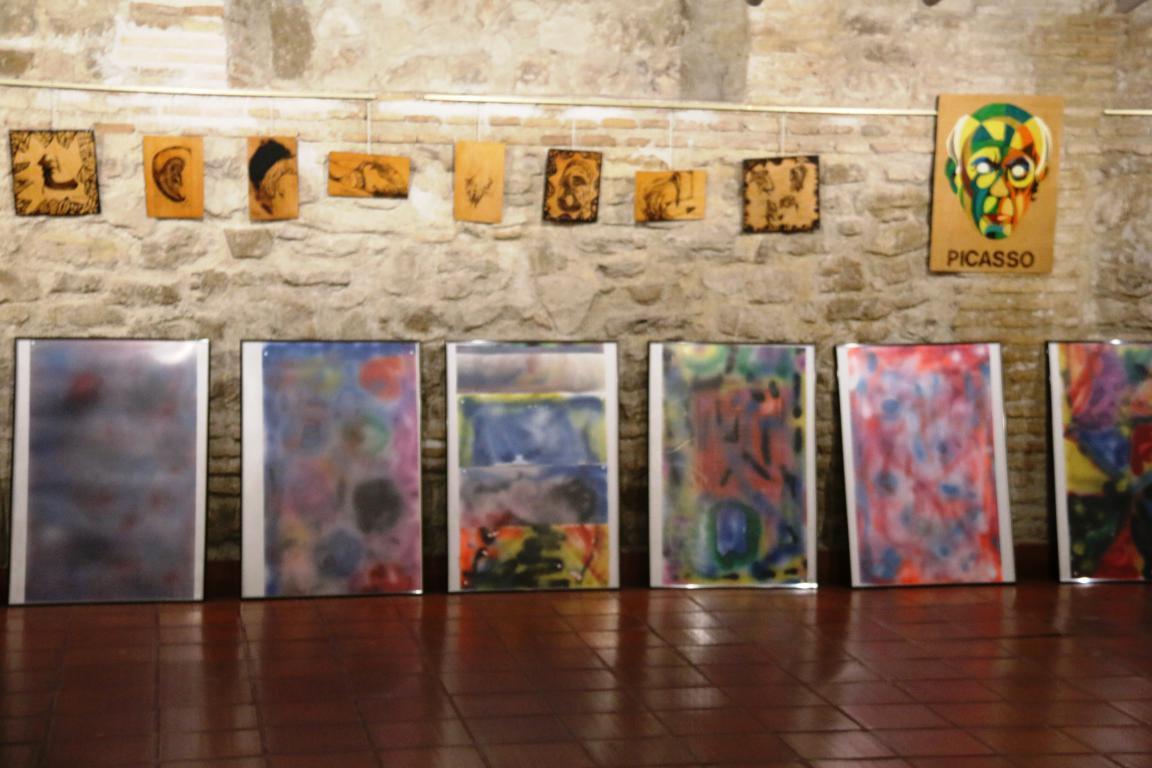 Exposición Diego Paredes Laencina en Sala La Cárcel de Molina de Segura