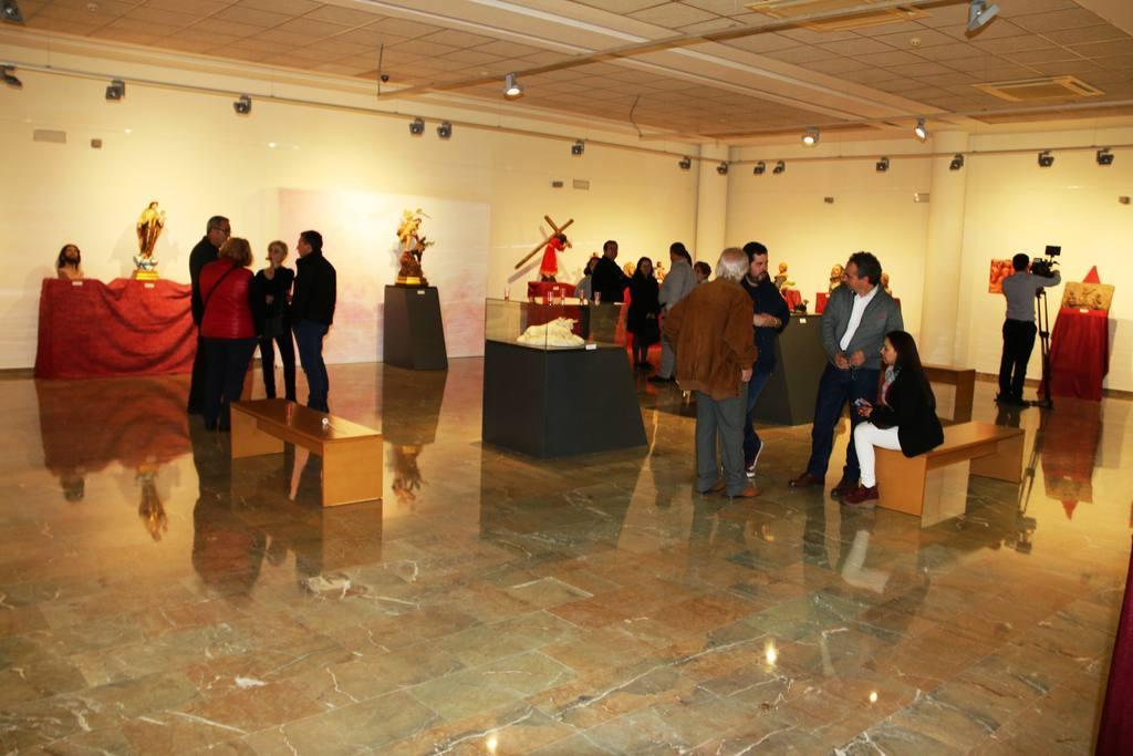 Exposición Esculturas de María del Mar Blázquez en el Museo de Archena