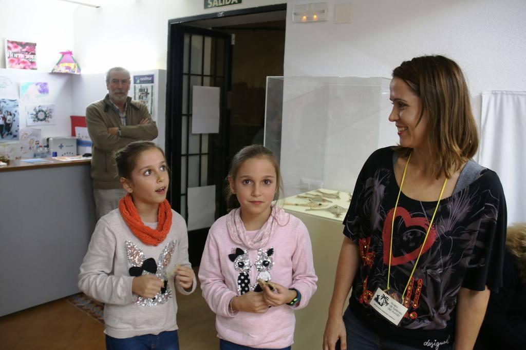 Exposición  Espartedeti de Eulalia Martínez en Ojós