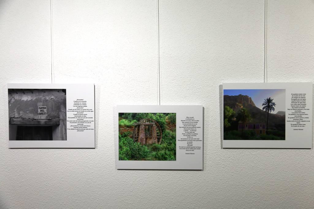 Exposición Fotoversia de El cura en Museo de los Belenes del Mundo-ojós