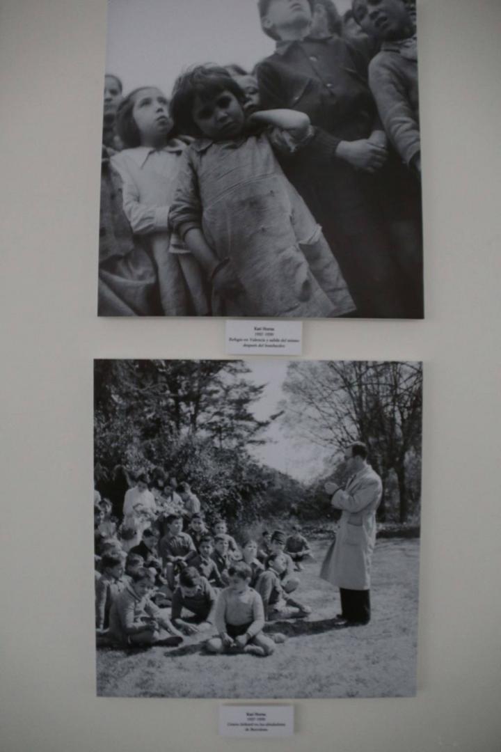 Exposición La Mirada de Kati Horna en el MUDEM Molina