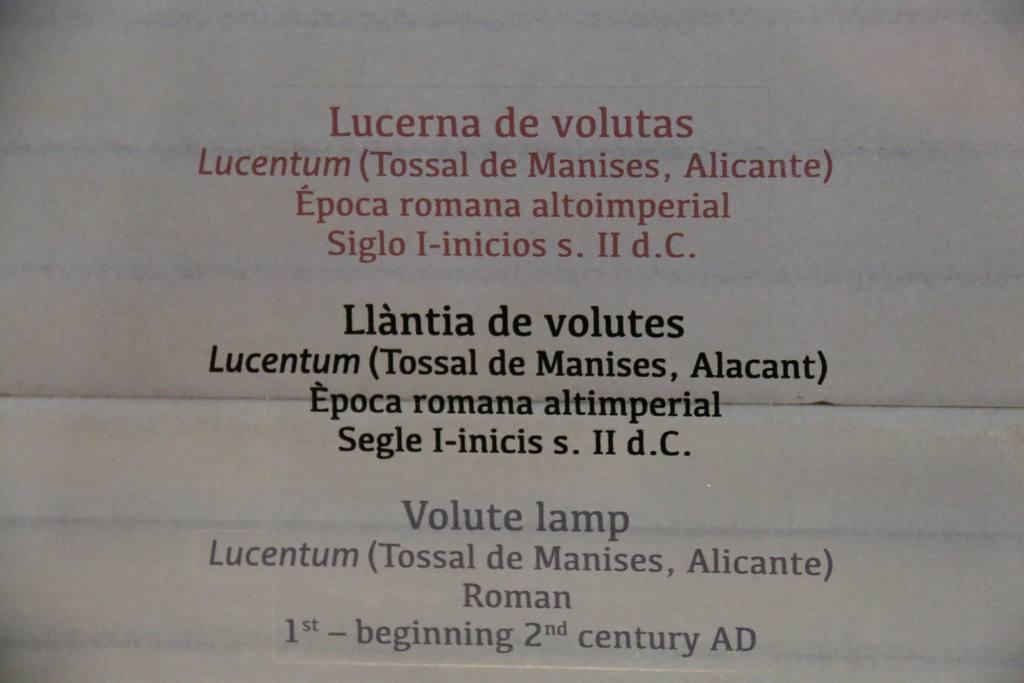 Exposición Luz de Roma en MUDEM  de Molina de Segura