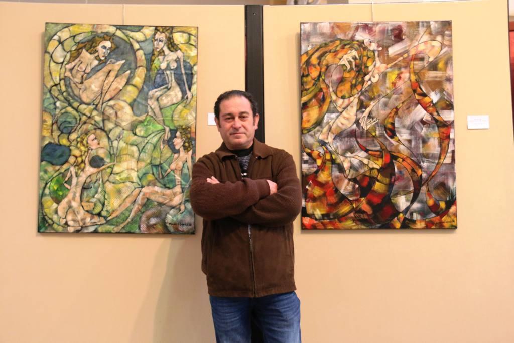 Exposición Manuel López en el Museo de Siyasa Colección Alambique