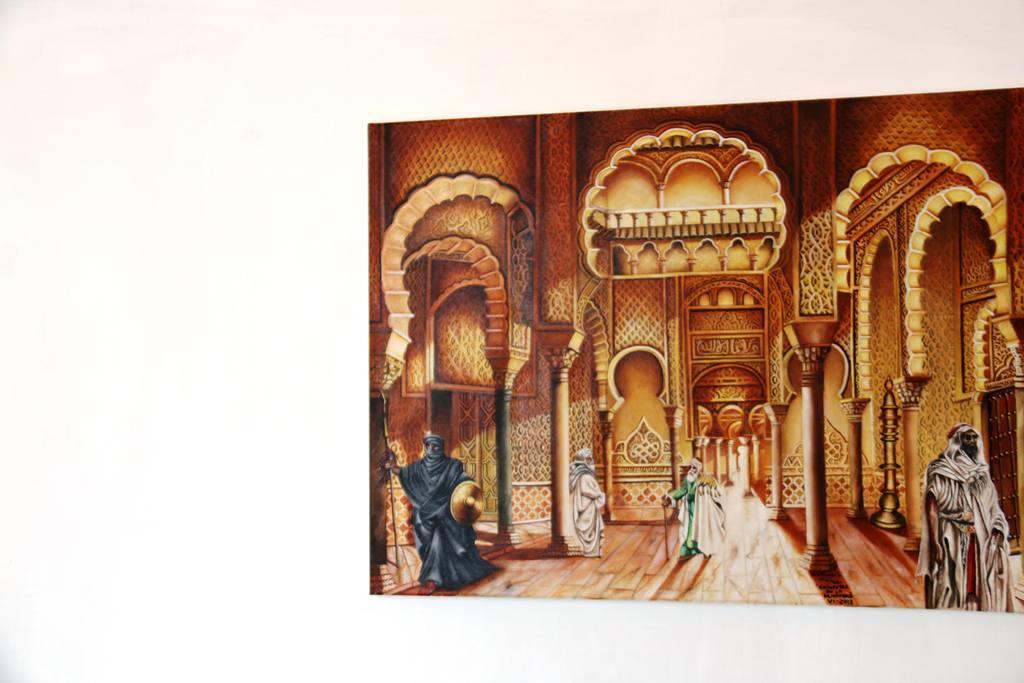 Exposición Pintura Orientalista de A Velasco en el Museo de Siyasa de Cieza