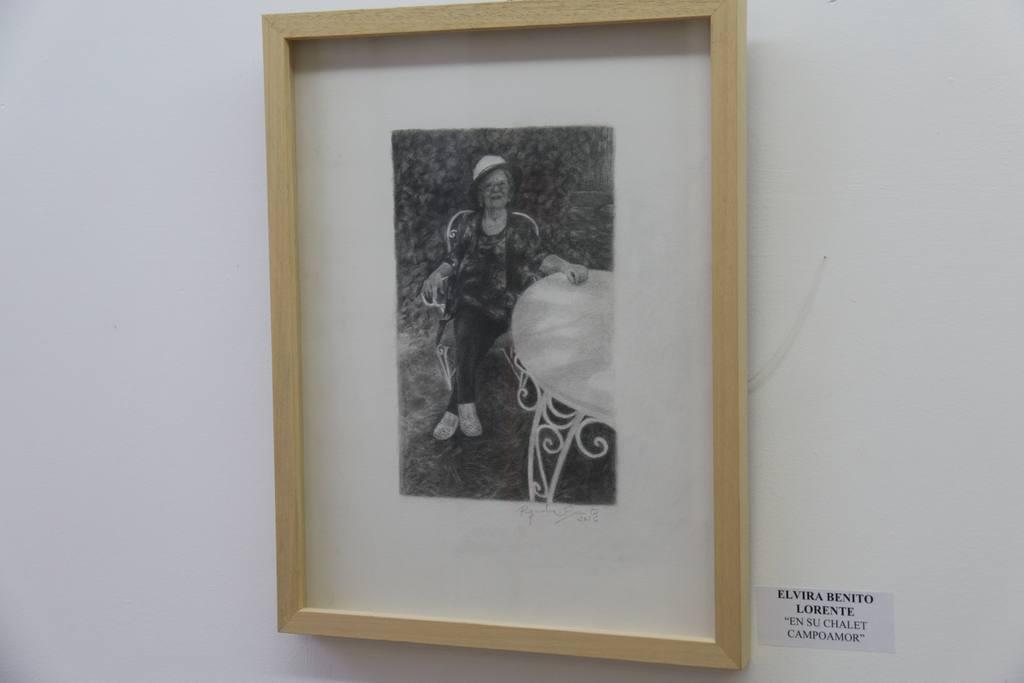 Exposición Retratos de Jesús Miguel Riquelme en Sala Los Postigos de Molina