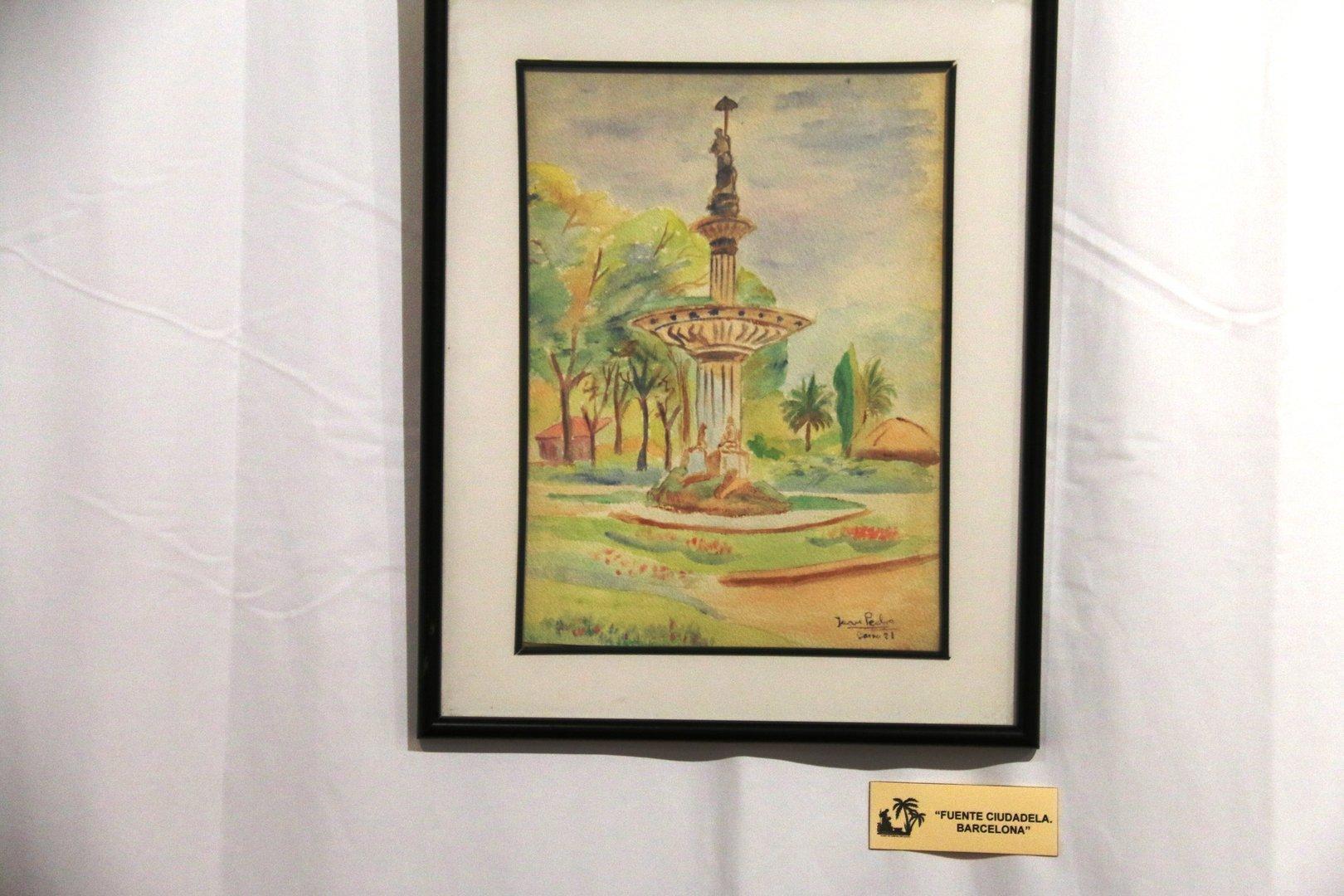 Exposición Retrospectiva-Obra pictórica de Juan Pedro Marín
