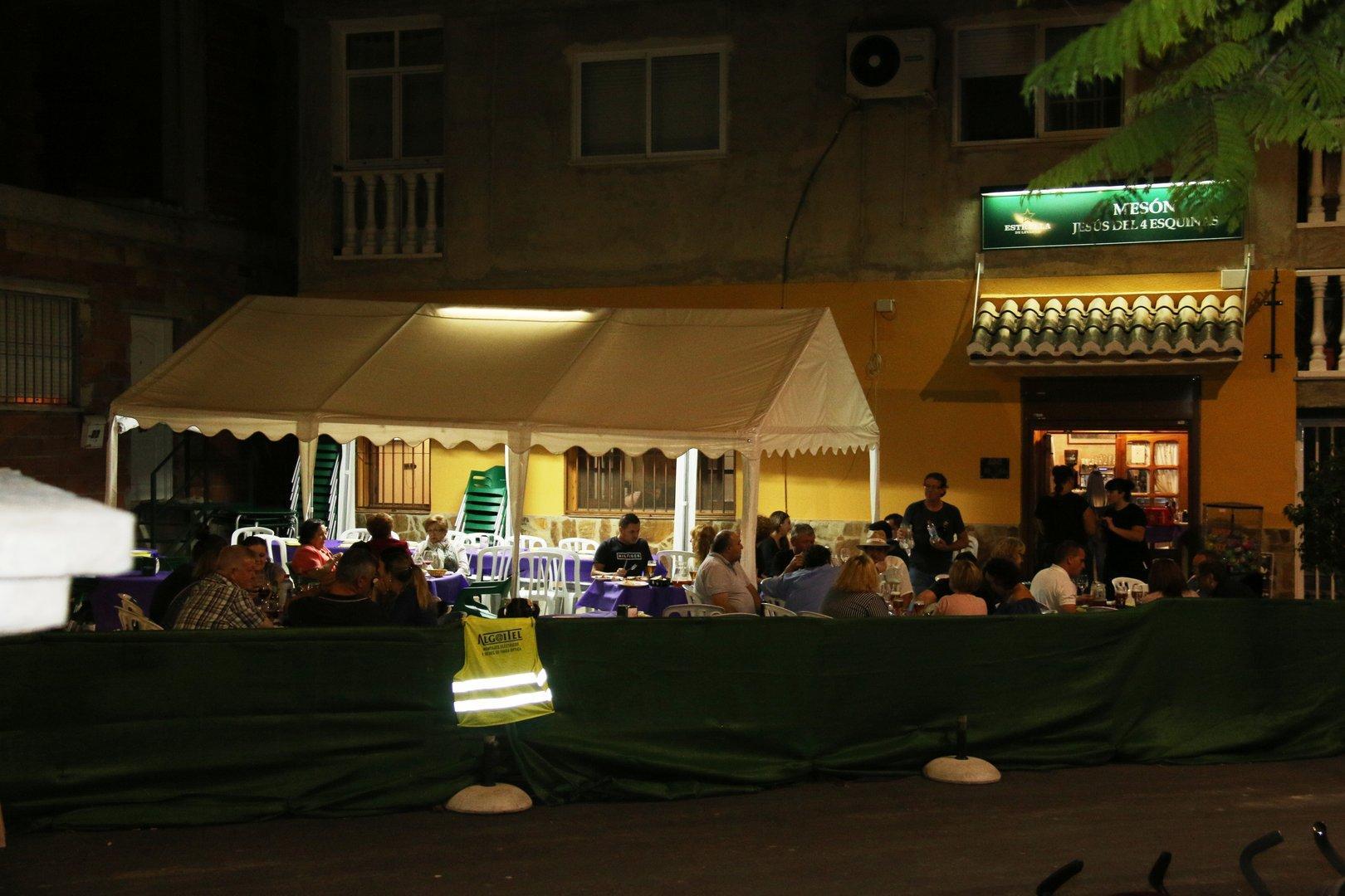 Fiestas Algaida en Restaurante Jesús 4 Esquinas