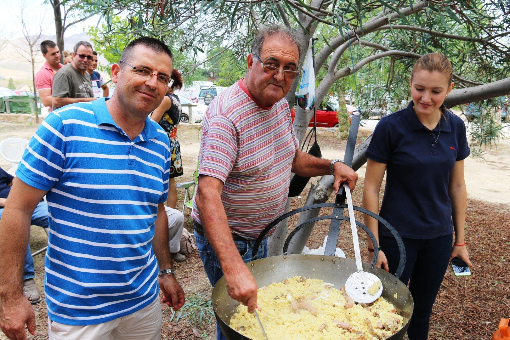 Fiestas de Campillo en Ojós 2017-Comidas