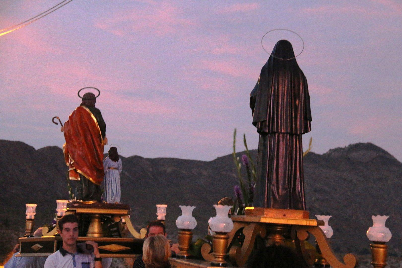 Fiestas de Campillo en Ojós 2017-Procesión
