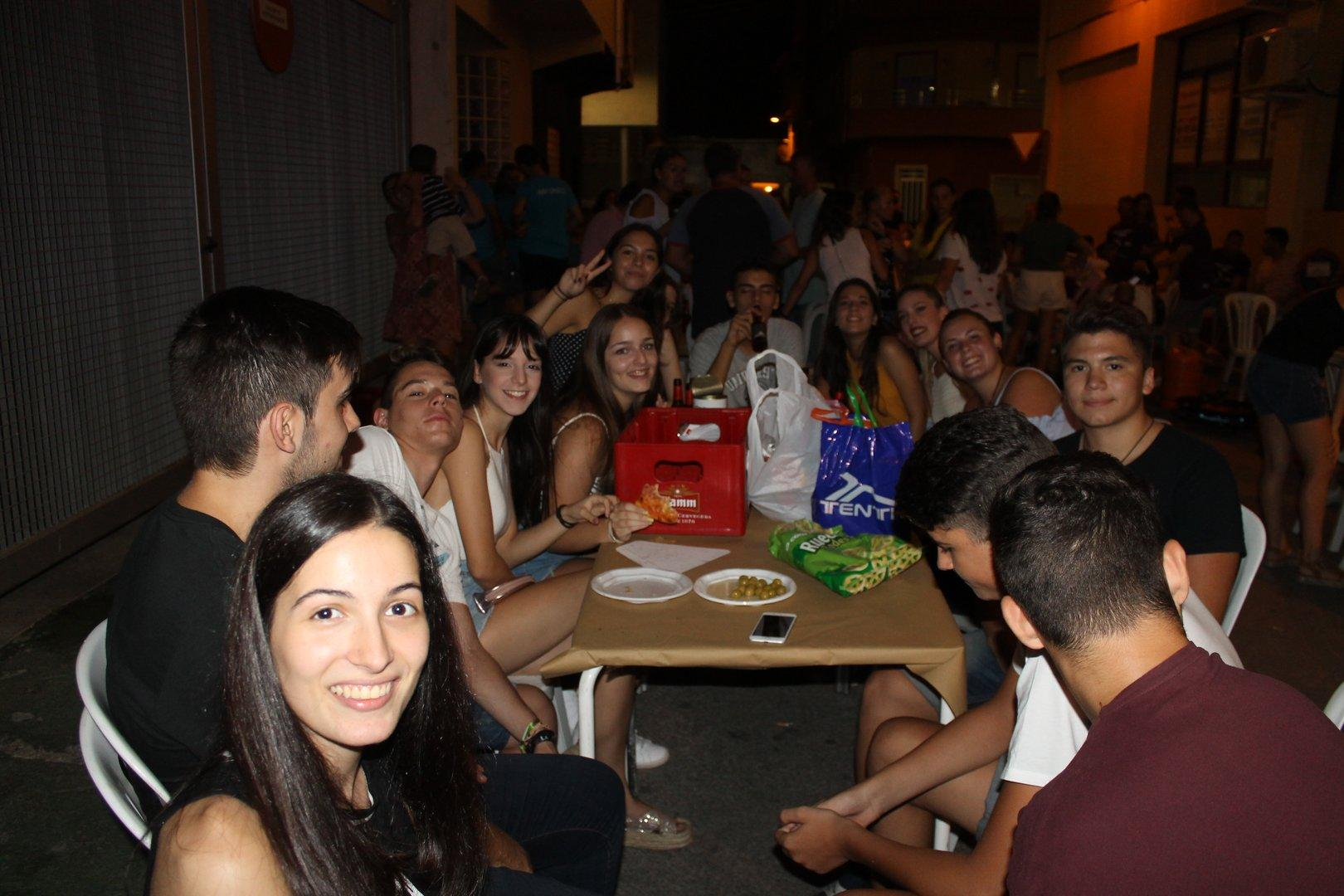 Fiestas de Ceutí 2017-Paellas en Ático Pub