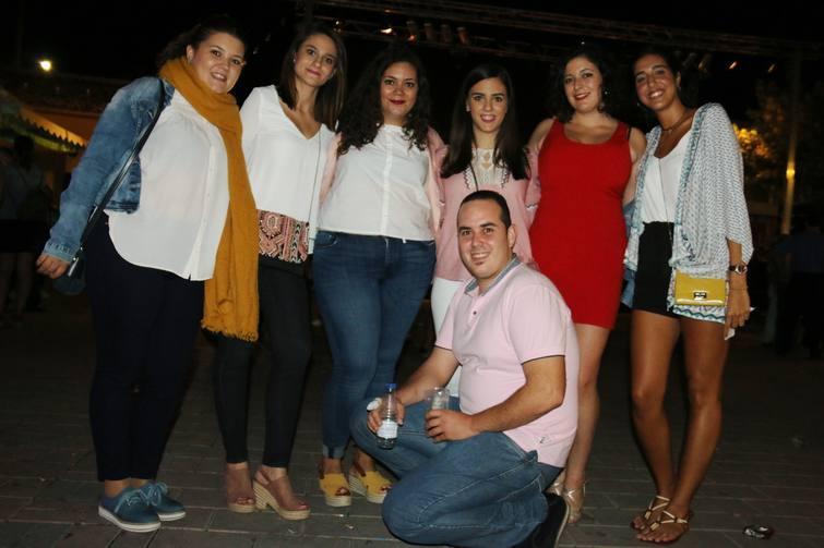 Fiestas de La Algaida 2017 con Homenaje a Hombres G y Cafería Tema
