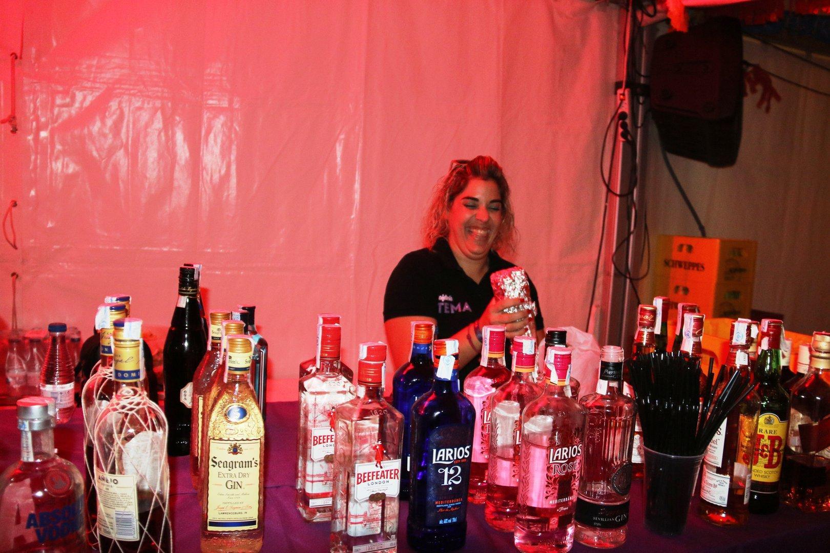 Fiestas de La Algaida con Cafetería Pub Tema y Orquesta Utopía