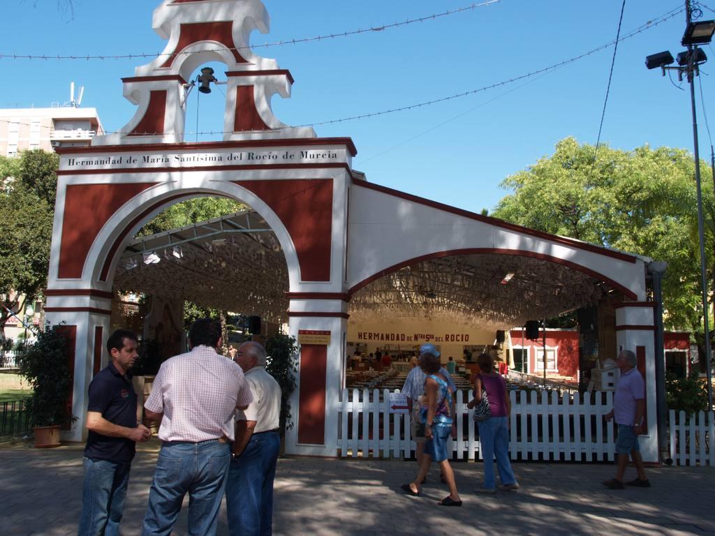 Hermandad de María Santísima del Rocio-Feria Murcia 2017