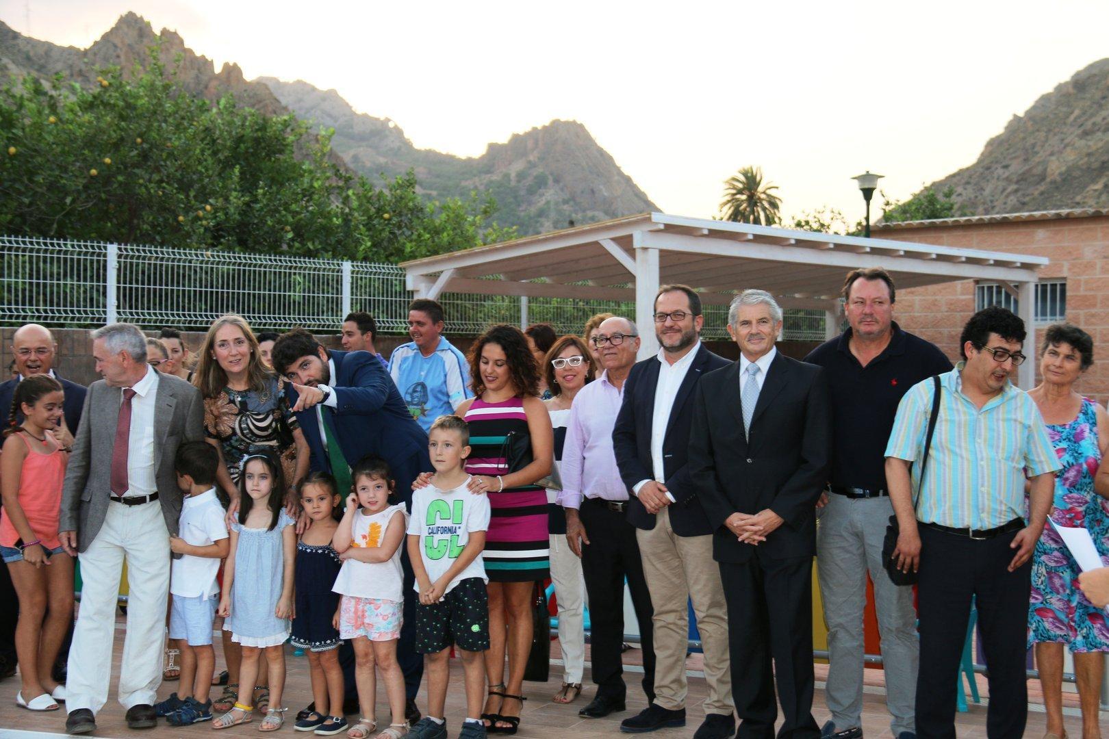 Inauguración Piscina Municipal Ojós
