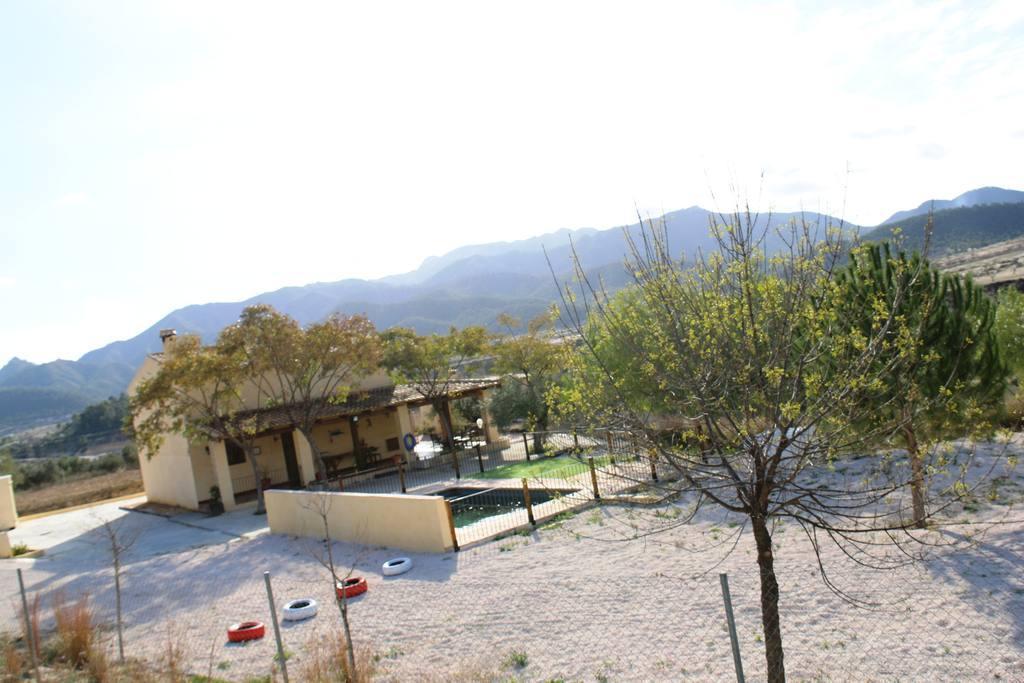 Instalaciones Exteriores Casa Rural El Escorial en Ricote