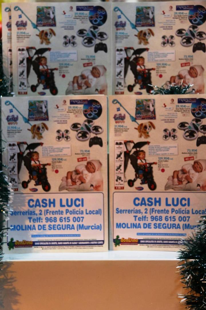 Juguetes Cash Luci Molina de Segura