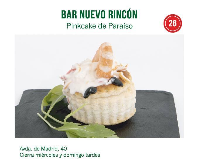 Bar Nuevo Rincón de Molina para molina tapas 2018