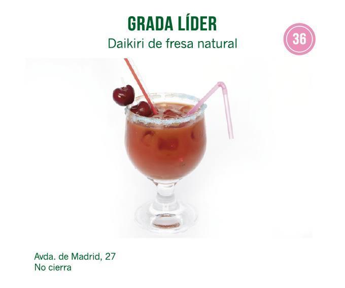Cóctel de  Grada Líder para molina tapas 2018