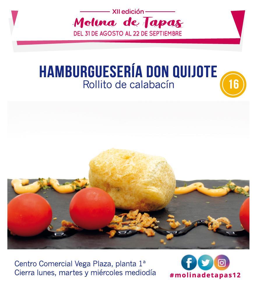 Molina Tapas 2019 - Zona Amarilla
