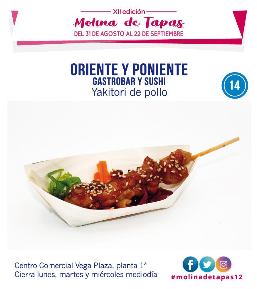 Molina Tapas 2019 - Zona Azul