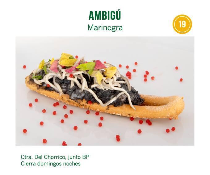 tapa Cafetería Restaurante Ambigú Acierta para molina tapas 2018