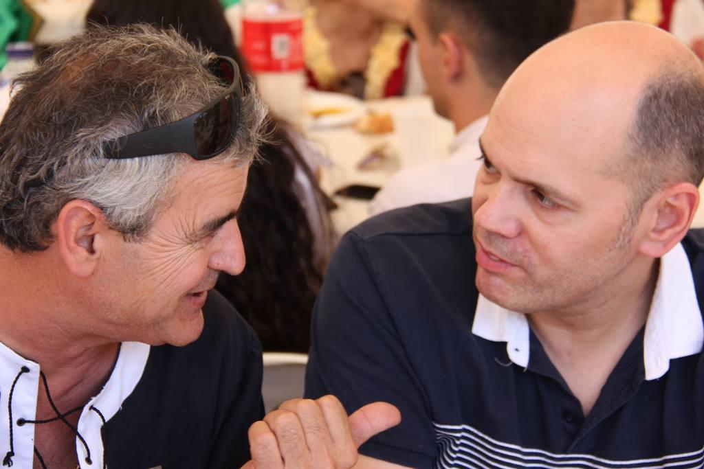 Moros y Cristianos de Molina  2018-Sábado Charangas y comida
