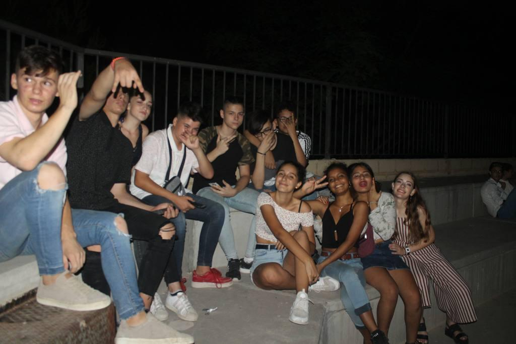 Noche último Sábado Fiestas Lorquí 2018