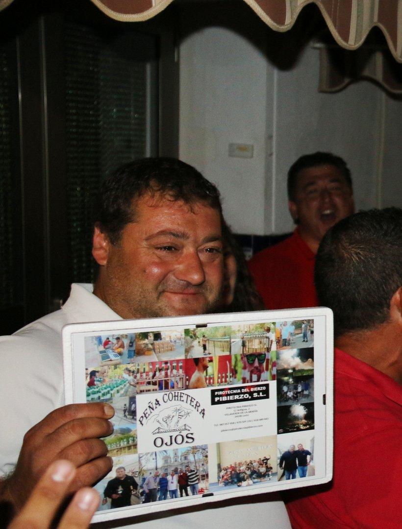 Peña Cohetera de Ojós. Cena y reconocimientos en Fiestas 2017
