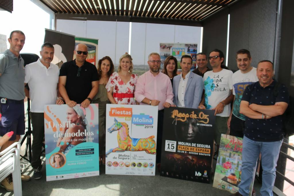 Presentación Fiestas de Molina de Segura 2019