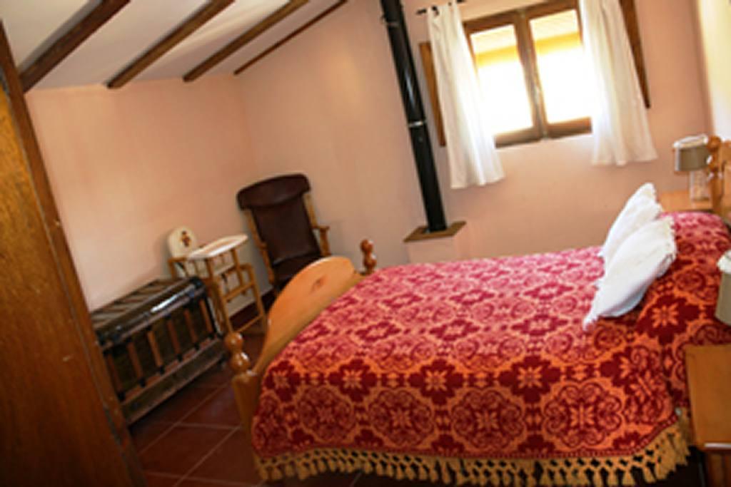 Primera Planta Casa Rural El Escorial en Ricote