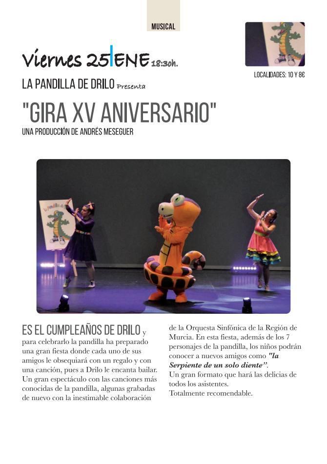 Programa 30 Aniversario Teatro Guerra de Lorca