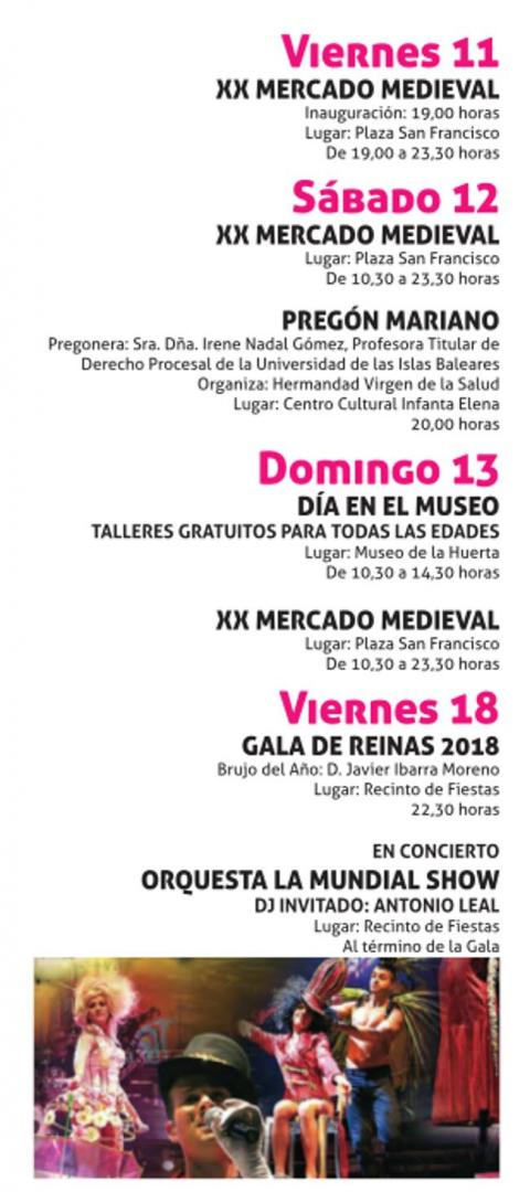 Programación Fiestas Mayo-2018-Alcantarilla-fiestas-bruja