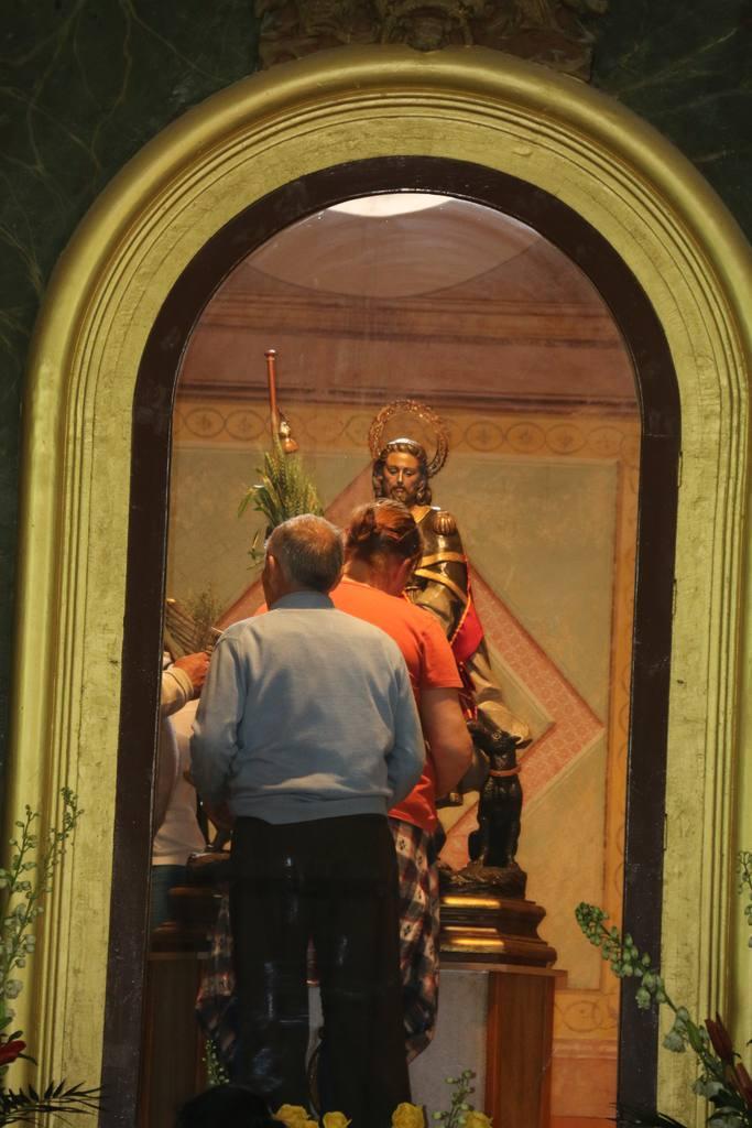 Romería de San Roque Blanca 2018 en La Ermita
