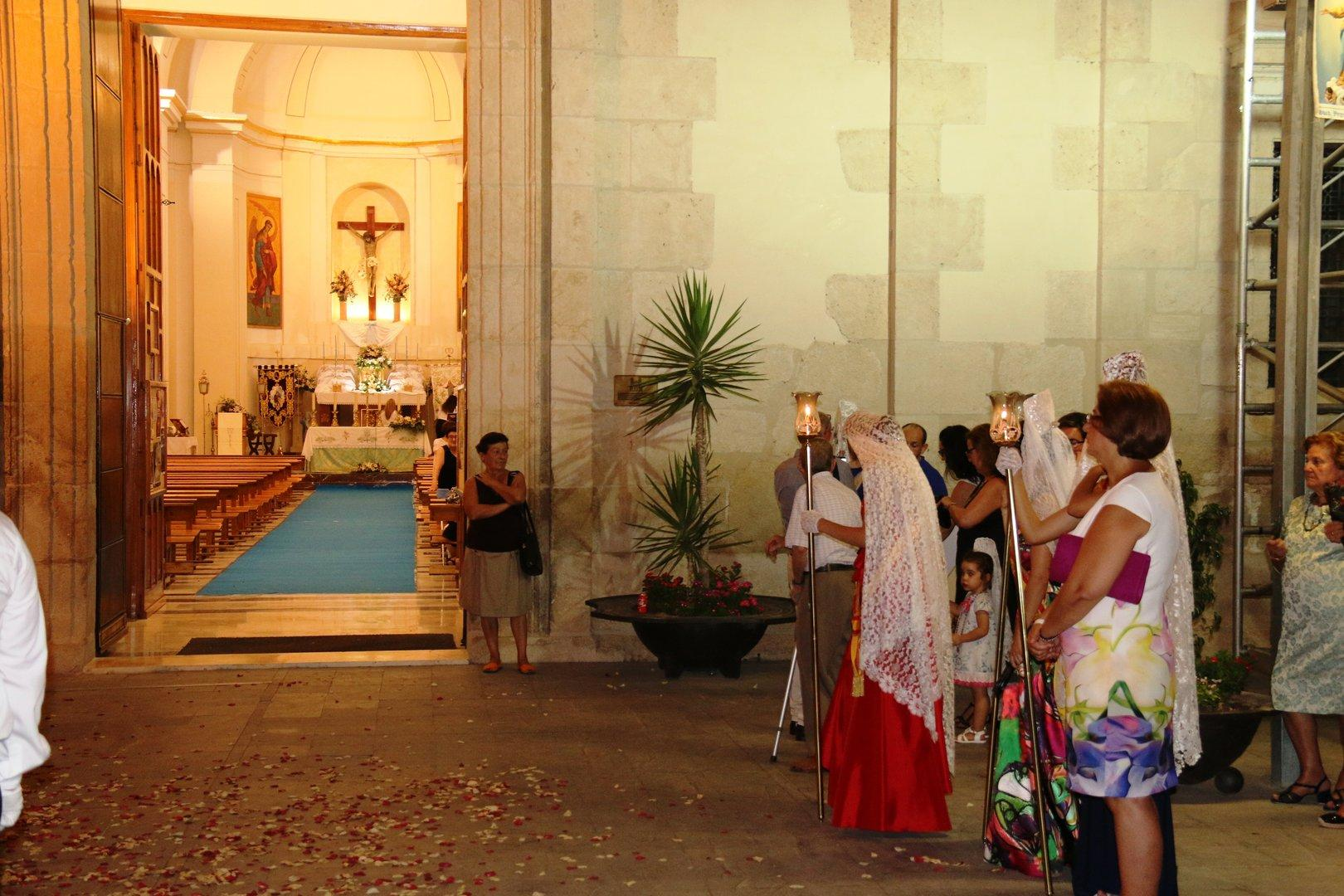 San Roque y La Virgen de la Asunción Fiestas de Villanueva 2017