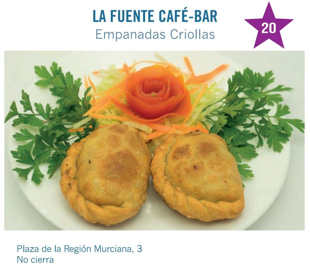 Tapa de La Fuente Café-Bar para molina tapas 2017