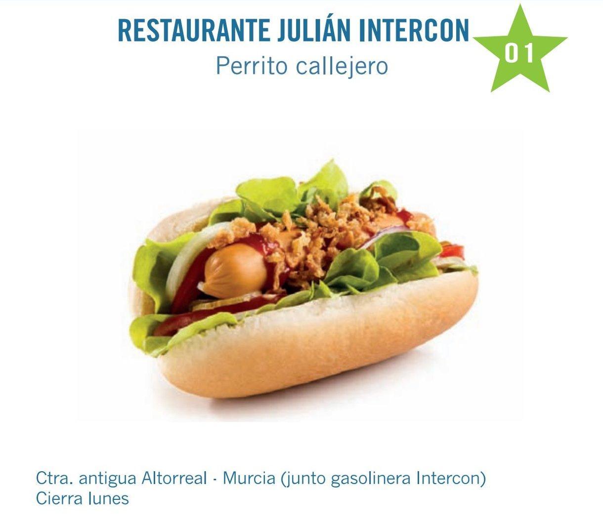 tapa restaurante julian intercon para molina tapas 2017