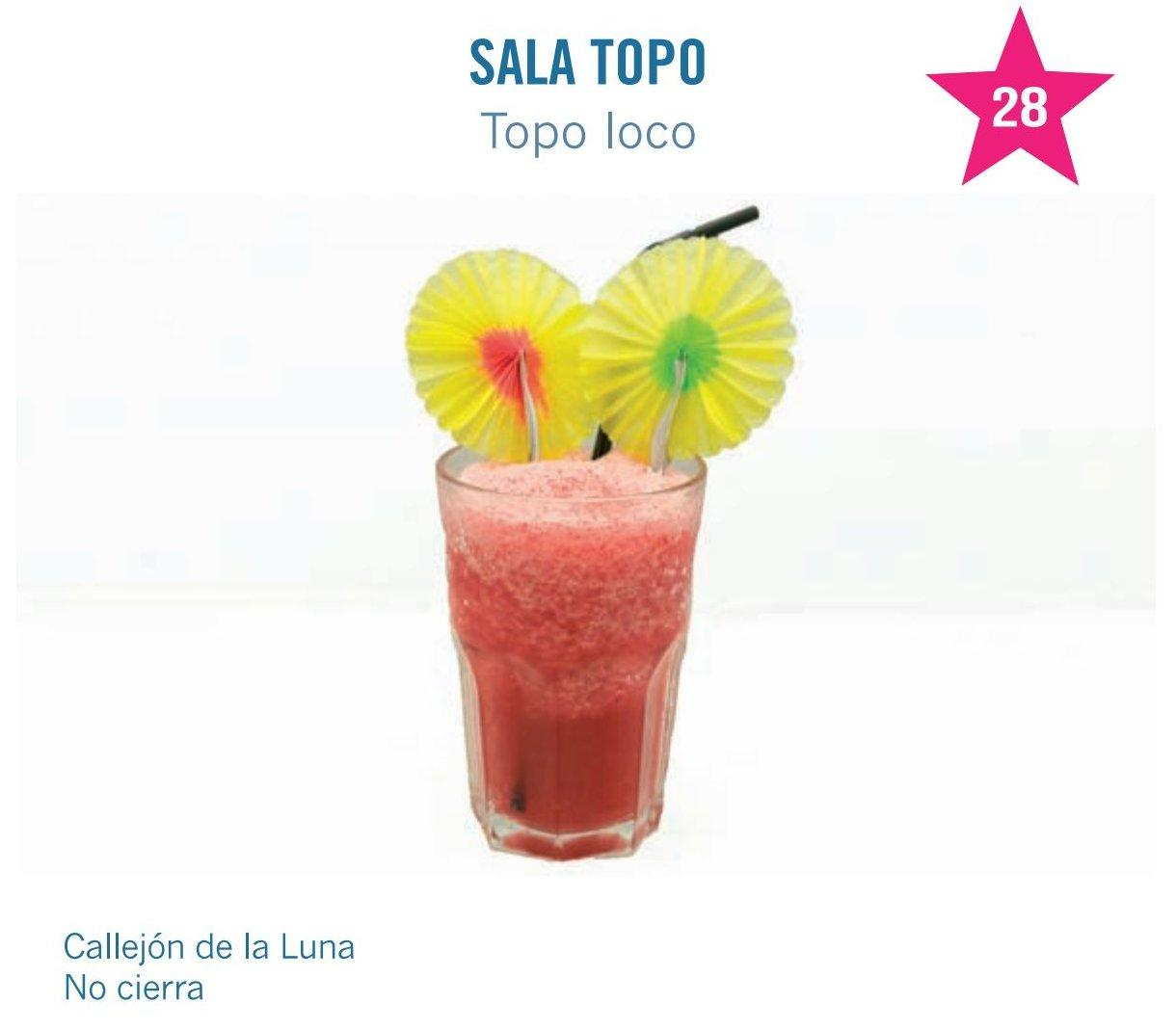 cóctel sala topo para molina tapas 2017