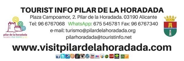 horarios y datos oficina turismo pilar horadada