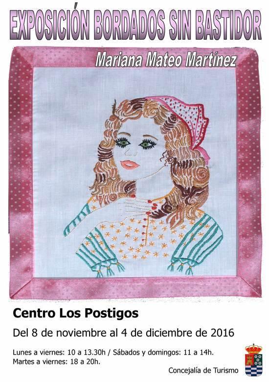 Exposición BORDADOS SIN BASTIDOR, de Mariana Mateo - La Guía W - La ...