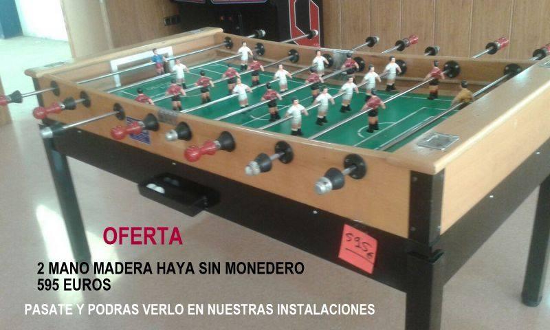 Oferta Futbolines Deportín