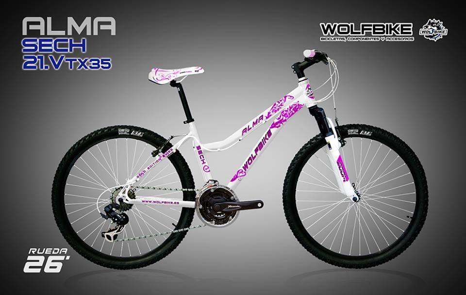 Promoción de Bicicletas Wolfbike en Ciclomanía