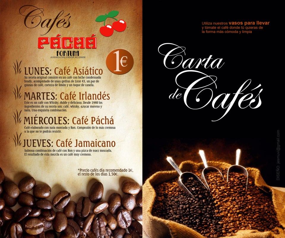 Exclusiva Carta de Cafés, Promoción Diaria